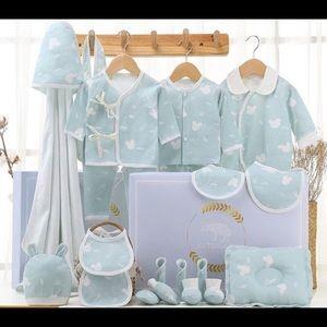 21 piece unisex baby gift set